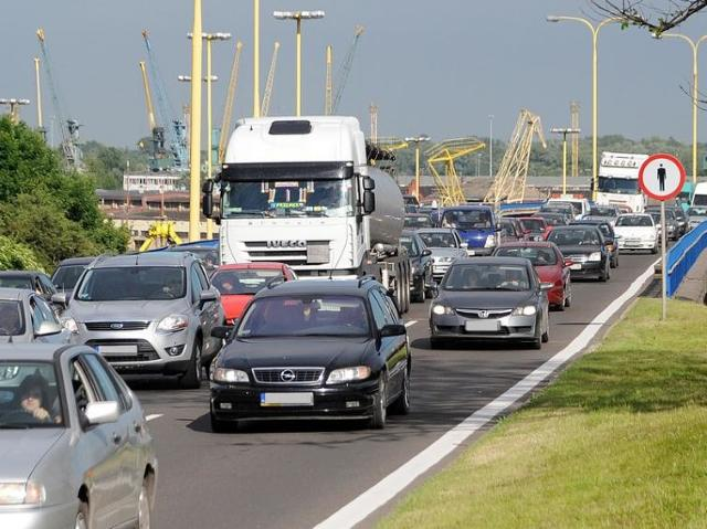 Zakorkowana Trasa Zamkowa w Szczecinie