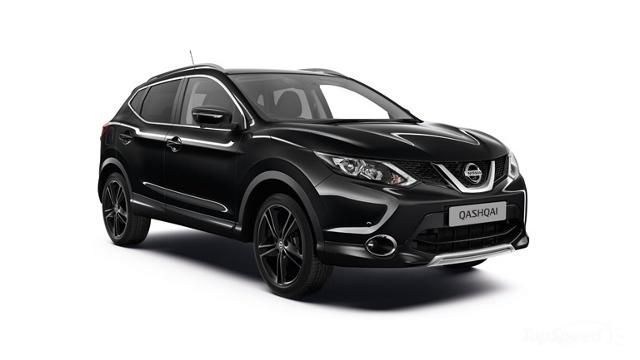 Nissan Qashqai w odmianie Black Edition  Wybierać można spośród dwóch jednostek napędowych: 1.5 dCi 110 KM lub 1.6 dCi 130 KM. Silniki mogą zostać połączone z sześciostopniową, manualną skrzynią biegów lub zautomatyzowaną X-Tronic.  Fot. Nissan