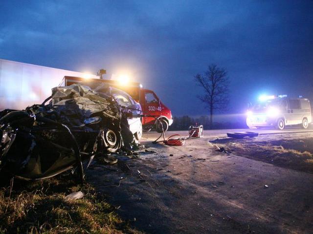 Boże Narodzenie na drogach – w wypadkach zginęły 44 osoby