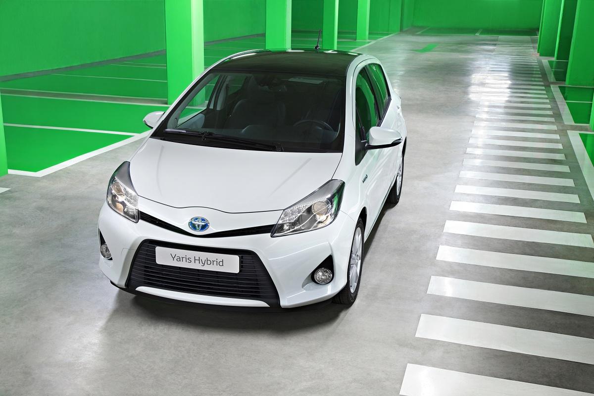 Toyota Yaris Hybrid, Fot: Toyota