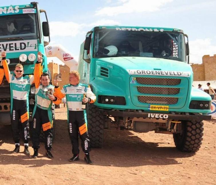 Mechanik z Olesna drugi w Rajdzie Maroka
