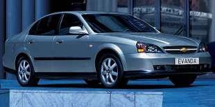 Chevrolet Evanda (2000 - 2006) Sedan