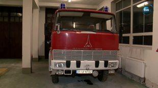 Zabytkowy wóz strażacki z Supraśla wystawiony na sprzedaż (video)