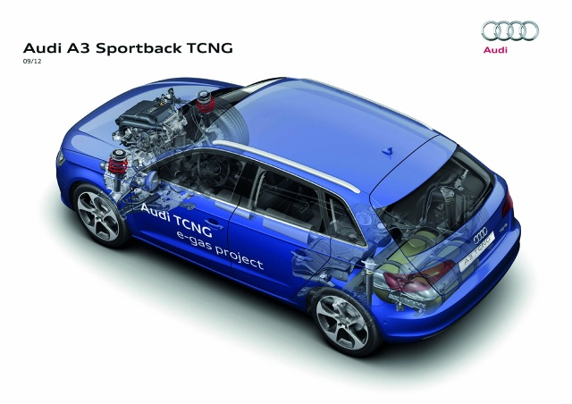zdjęcie Audi A3 Sportback TCNG