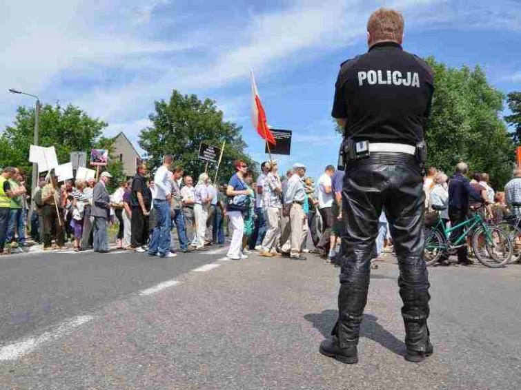 Uwaga! Blokada obwodnicy Szczecinka