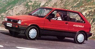 Subaru Justy I (1984 - 1995) Hatchback