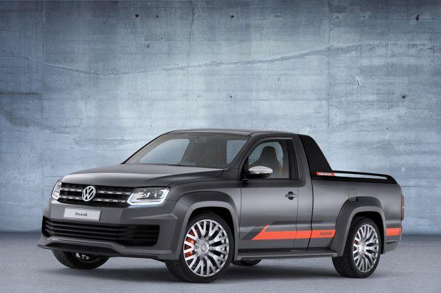 Amarok w wersji Power-DJ, Fot: Volkswagen