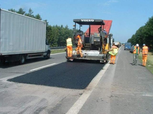 Remont nawierzchni na opolskim odcinku autostrady A4