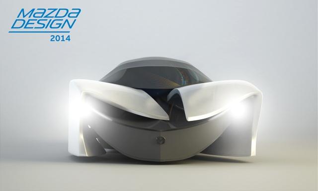 Mazda WHISPER - Grand Prix Mazda Design 2014 autor: Maciej Meroniuk