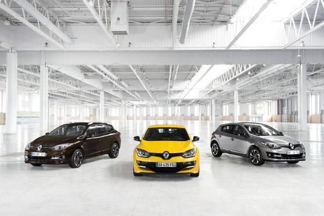 Renault Megane Grandtour, Renault Megane R.S. i Renault Megane Hatchback, Fot: Renault