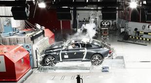 Polestar 1. Auto z włókien węglowych w teście zderzenoiwym