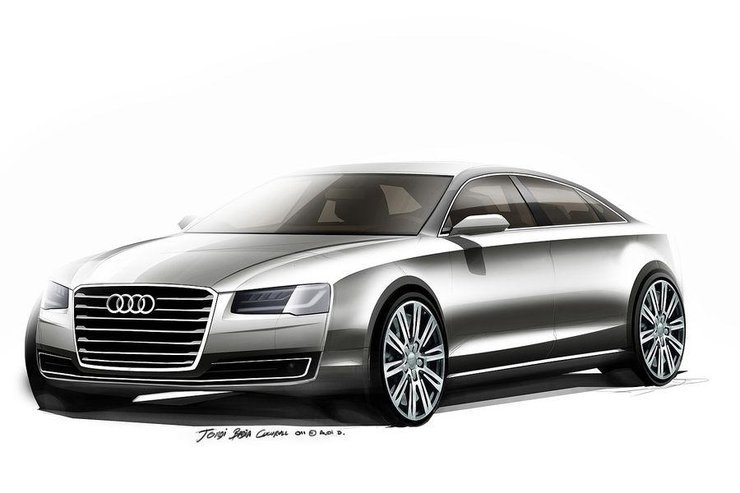 Audi A8 po faceliftingu / Fot. Audi
