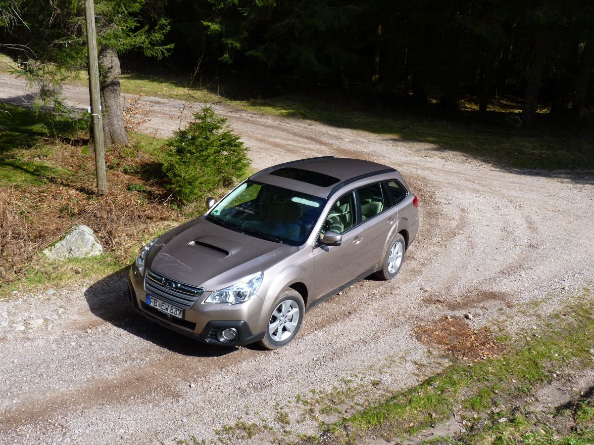 Subaru Outback Diesel Fot: Jerzy Dyszy