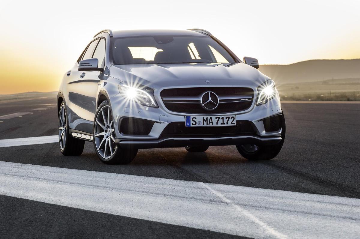 Mercedes-Benz GLA 45 AMG / Fot.  Mercedes-Benz