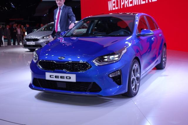 Kia Ceed   Trzecia generacja popularnego Ceeda, zaprojektowanego i produkowanego w Europie, ma wzmocnić na Starym Kontynencie pozycję marki Kia w segmencie kompaktowych hatchbacków.   Fot. Ryszard M. Perczak