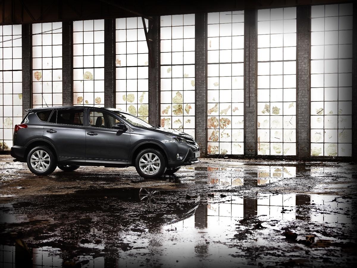Czwarta generacja Toyoty RAV4 , Fot: Toyota
