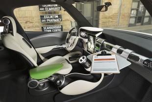Toyota zaprezentowała na Canadian International Auto Show koncepcyjny samochód dla kreatywnych mieszkańców miast – Toyota U2 Urban Utility Concept. Auto powstało w kalifornijskim studiu Toyoty, Calty Design / Fot. Toyota