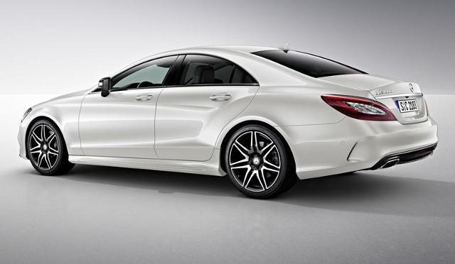 Mercedes-Benz CLS Night / Fot.  Mercedes-Benz