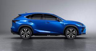 Lexus. Czy crossover NX będzie pierwszą hybrydą plug-in tej marki?
