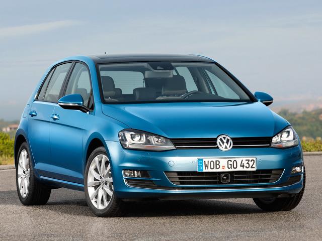 Obecna siódma generacja Golfa produkowana jest przez koncern Volkswagen od sierpnia 2012 roku / Fot. Volkswagen