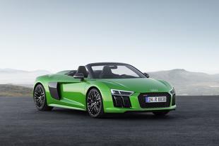 Audi R8 Spyder V10 plus. Najszybszy seryjny kabriolet marki