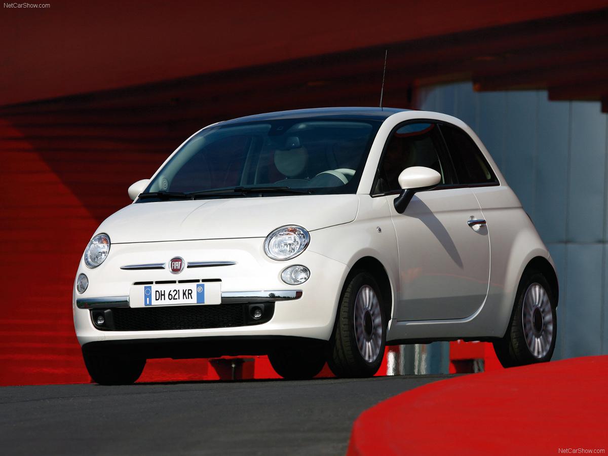 Fiat 500 2007 / Fot. Fiat