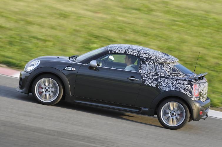 Nowe MINI Coupe - dwumiejscowe z mocnymi silnikami