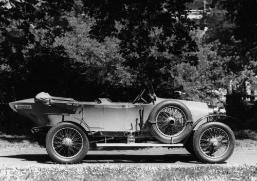 Fot. Audi: August Horch założył firmę Audi w 1910 roku. Udanym modelem był Typ C z 1914 r.