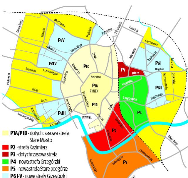 Krakw Mieszkacy Nie Maj Gdzie Parkowa Patna Strefa Obejmie