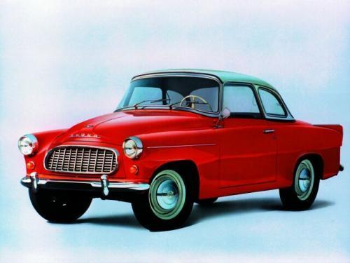 Fot. Skoda: Model 440 Felicia – wersja coupe, obecnie ceniony przez kolekcjonerów.