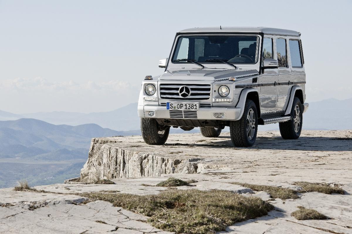 Mercedes G, Fot: Mercedes-Benz