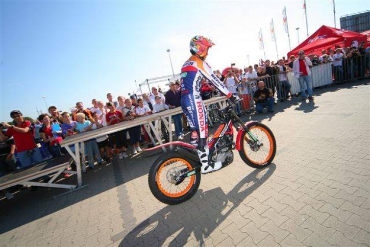 Finał Gymkhana 2012 z mistrzem świata w trialu