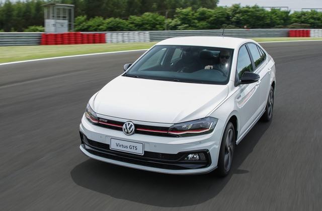 Volkswagen Virtus to czterodrzwiowa wersja modelu Polo. Auto jest produkowane w Brazylii. Fot. Volkswagen