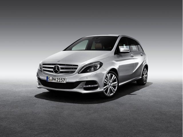 Mercedes B 200 Natural Gas Drive, Fot: Mercedes-Benz