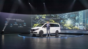 Mercedes EQV. Pierwszy, w pełni elektryczny pojazd MPV klasy premium
