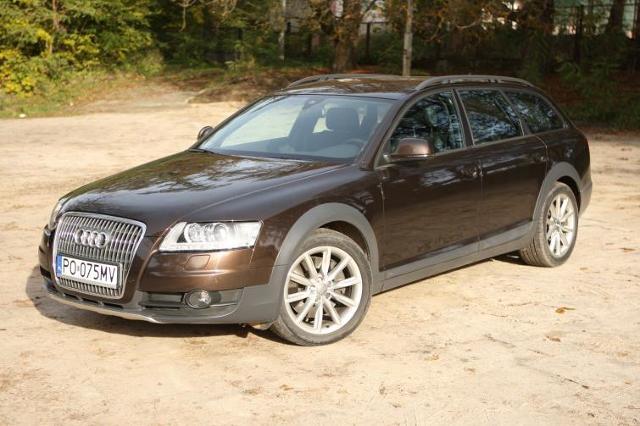 Testujemy: Audi A6 Allroad - zwinny w zakrętach