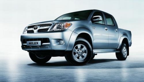 Fot. Toyota: Hilux cieszy się popularnością. To jeden z najlepiej sprzedających się samochodów Toyoty.