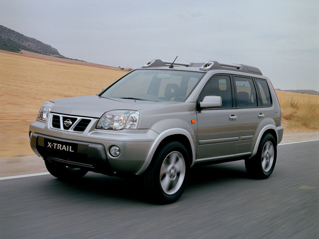 nissan x trail 2000 2007 nissan x trail 2000 2003 fot nissan galeria motofakty. Black Bedroom Furniture Sets. Home Design Ideas