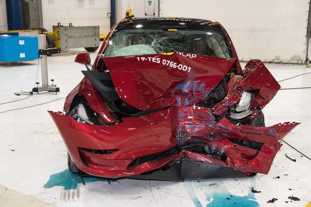 Tesla Model 3. Fot. Euro NCAP