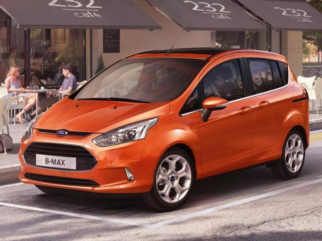 Ford B-Max - premiera miejskiego minivana już wkrótce