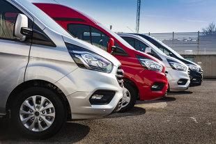 Sprzedaż samochodów dostawczych. Jest nadzieja? TOP 10 popularnych marek