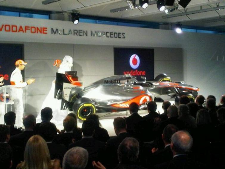 McLaren zaprezentował nowy bolid