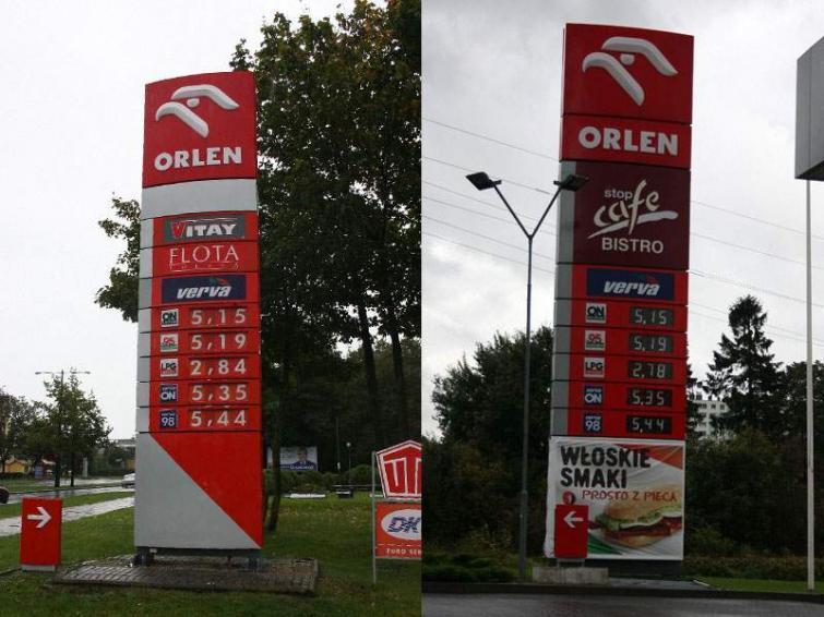 Ceny paliw w Koszalinie i Kołobrzegu: porównanie