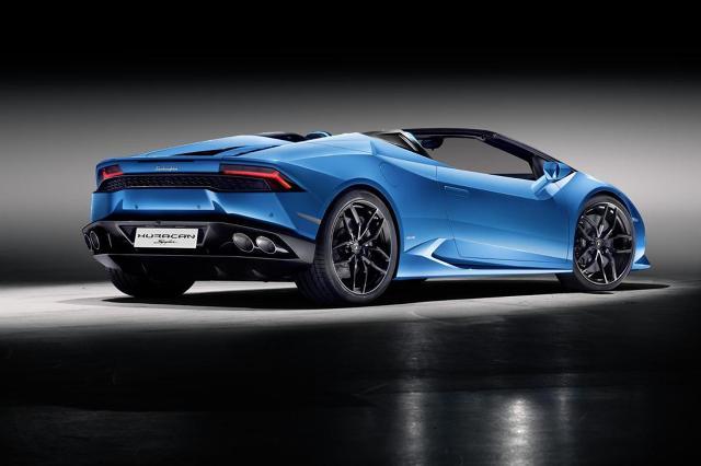 zdjęcie Lamborghini Huracan Spyder
