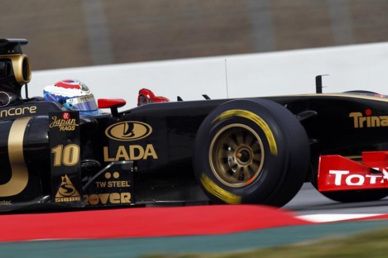 Testy Formuły 1 w Barcelonie – dobre dni Lotusa Renault