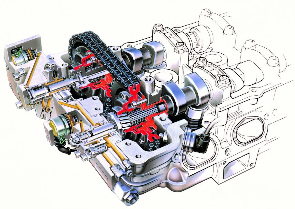 Stałe fazy rozrządu w całym zakresie obrotów silnika to rozwiązanie tanie, ale nieefektywne. Zmienność faz daje wiele korzyści.  fot. BMW