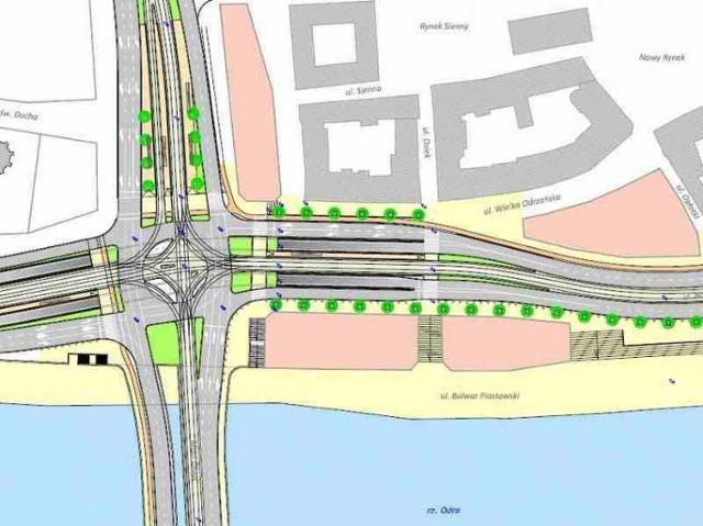Zmiany w centrum Szczecina: Most wyżej, trasa w tunel?