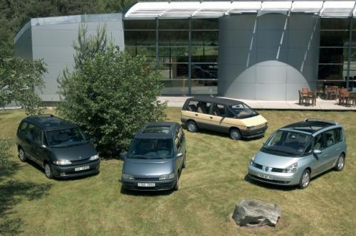 Cztery genracje Renault Espace