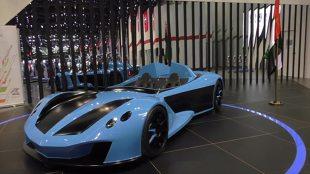 Sportowy roadster o niskiej masie i mocy 360 KM