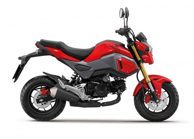 Zmodernizowany model MSX 125 będzie dostępny u dealerów Hondy w całej Europie od wiosny 2016 / Fot.  Honda